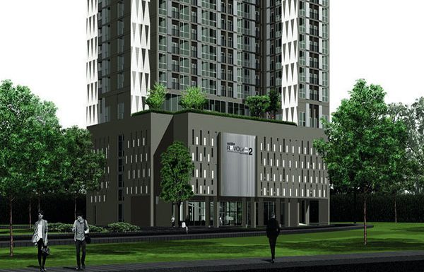 Noble-Revolve2-Ratchada-Bangkok-condo-for-sale-entrance