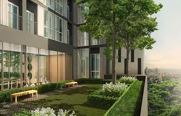 Noble-Revolve2-Ratchada-Bangkok-condo-for-sale-garden-3